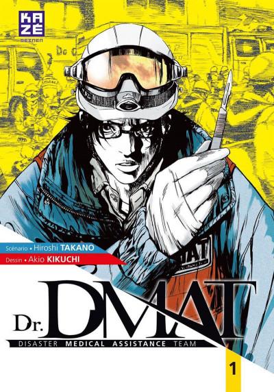 Couverture Dr. DMAT tome 1