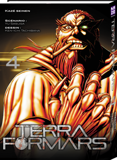 Couverture Terra formars tome 4