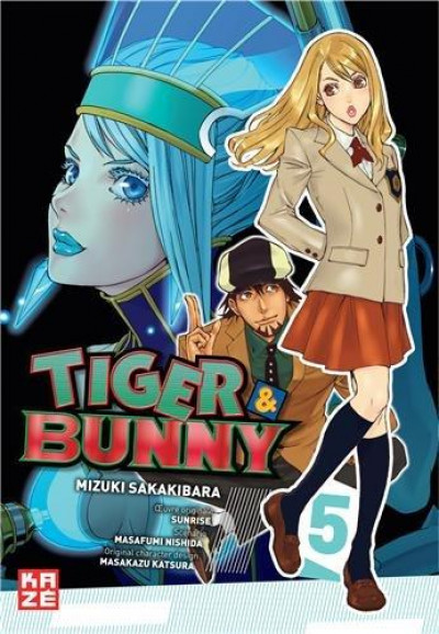 Couverture Tiger & Bunny Tome 5