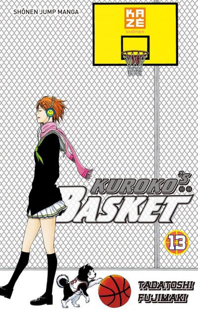 Couverture Kuroko's basket Tome 13