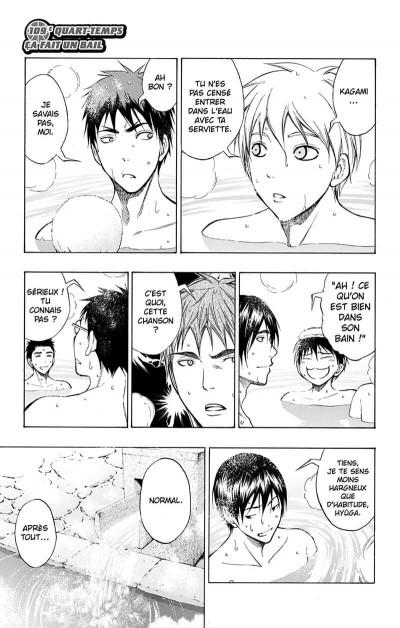 Page 6 Kuroko's basket Tome 13