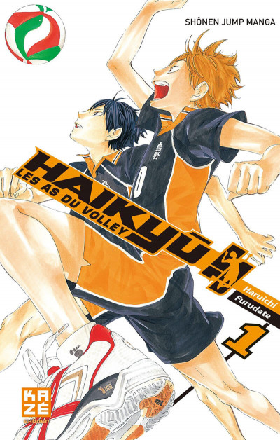 Couverture Haikyu !! - Les As du Volley Tome 1