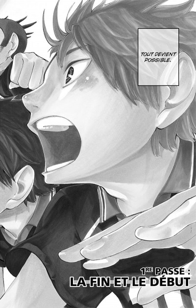 Page 5 Haikyu !! - Les As du Volley Tome 1
