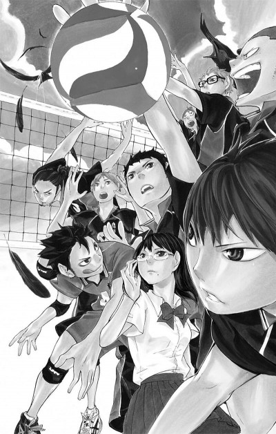 Page 6 Haikyu !! - Les As du Volley Tome 1