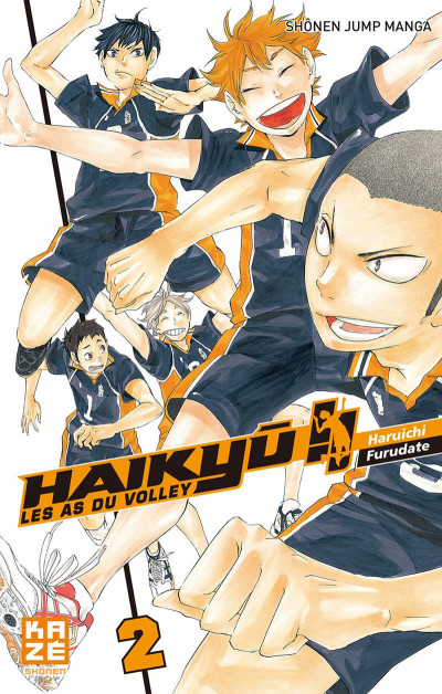 Couverture Haikyu !! - Les As du Volley Tome 2