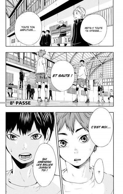 Page 6 Haikyu !! - Les As du Volley Tome 2