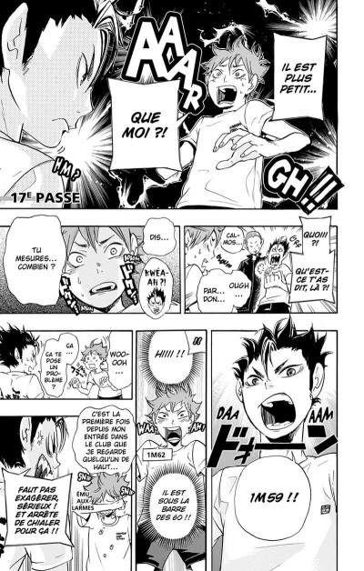 Page 6 Haikyu !! - Les As du Volley Tome 3