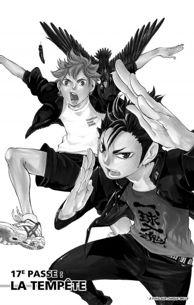 Page 7 Haikyu !! - Les As du Volley Tome 3