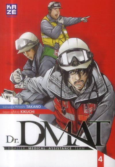 Couverture Dr DMAT tome 4