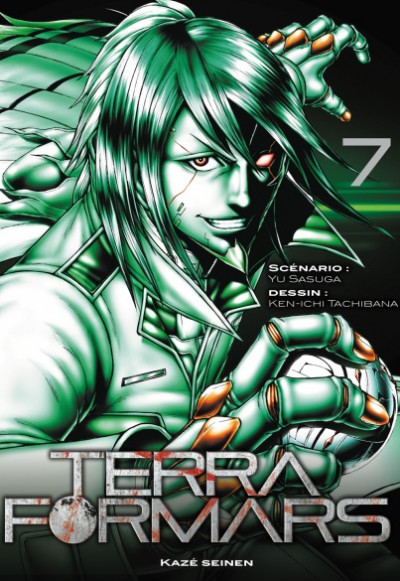 Couverture Terra Formars tome 7