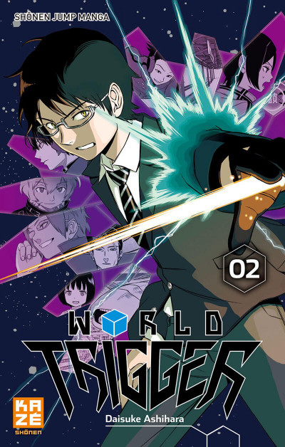 Couverture World Trigger tome 2