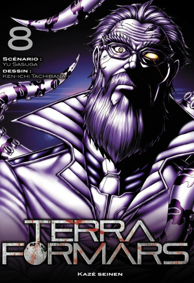 Couverture Terra Formars tome 8