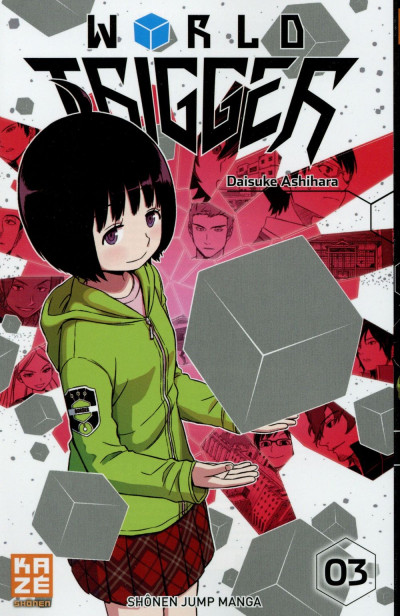Couverture World Trigger tome 3