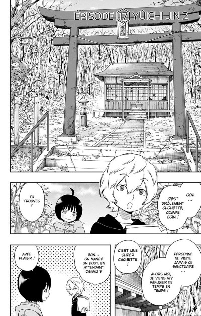 Page 9 World Trigger tome 3