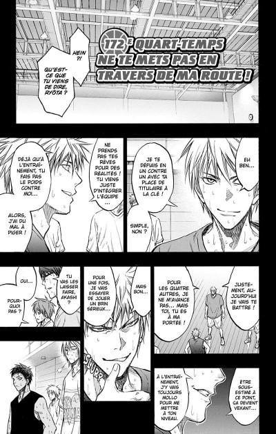 Page 6 Kuroko's Basket tome 20