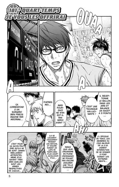 Page 6 Kuroko's Basket tome 21
