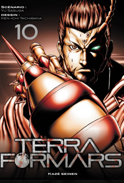 Couverture Terra Formars tome 10