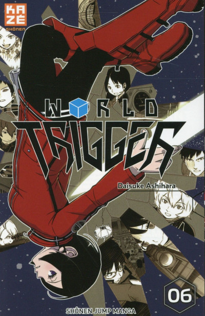 Couverture World Trigger tome 6