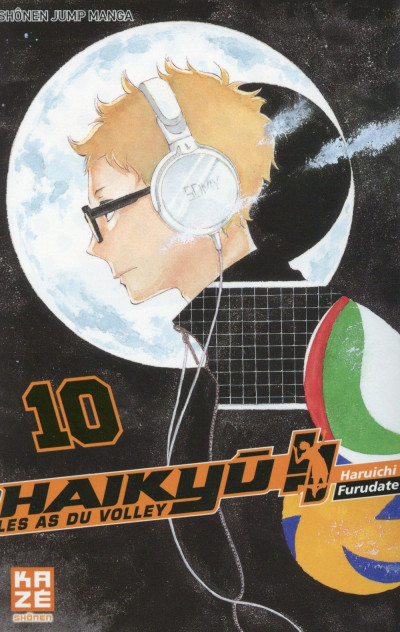 Couverture Haikyu !! - Les As du Volley tome 10
