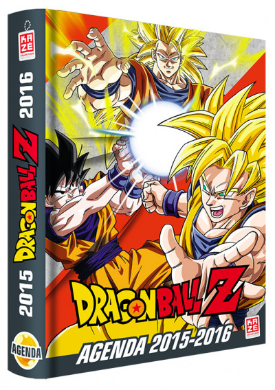 Couverture Dragon Ball Z - Agenda 2015/2016