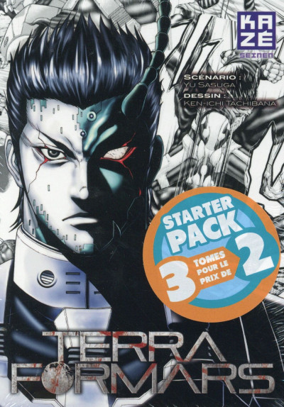 Couverture Terra Formars - Starter Pack tome 1 à tome 3