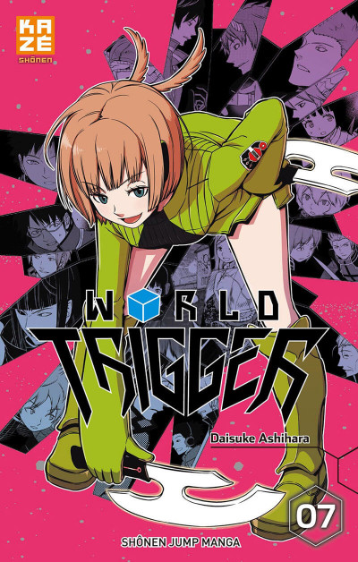 Couverture World Trigger tome 7