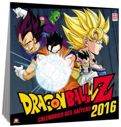 Couverture Dragon Ball Z - Calendrier 2016