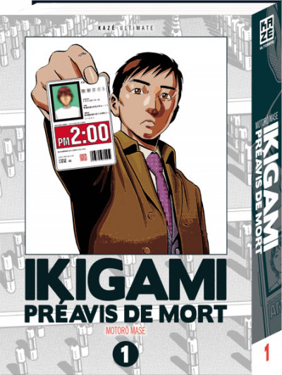Couverture Ikigami - ultimate tome 1