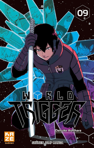Couverture World trigger tome 9