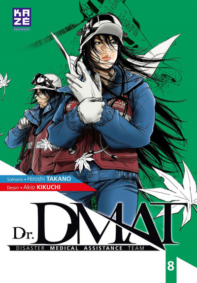 Couverture Dr DMAT tome 8