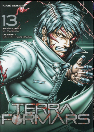 Couverture Terra Formars tome 13