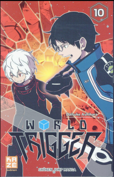 Couverture World trigger tome 10