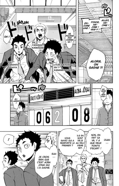 Page 8 Haikyu !! - Les as du volley tome 15