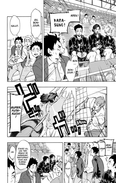 Page 9 Haikyu !! - Les as du volley tome 15