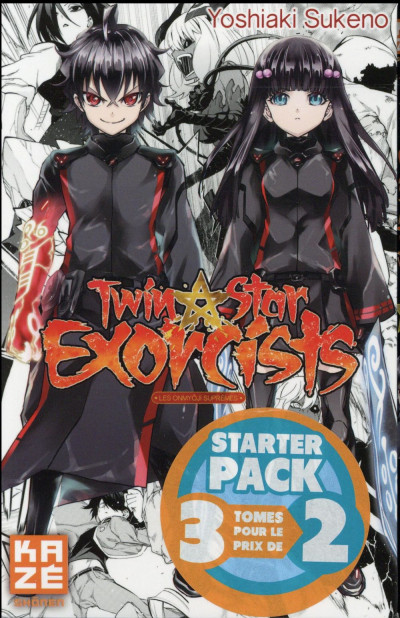 Couverture Twin star exorcists - Starter pack tomes 1 à 3