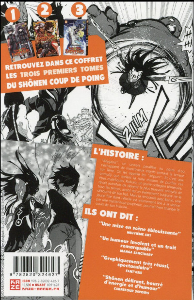 Dos Twin star exorcists - Starter pack tomes 1 à 3