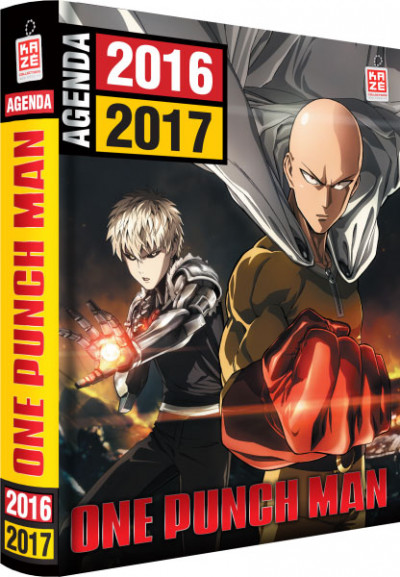 Couverture One punch-man - agenda scolaire 2016-2017