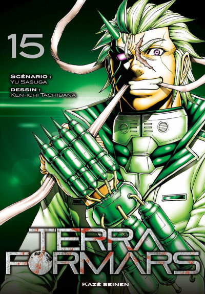 Couverture Terra formars tome 15