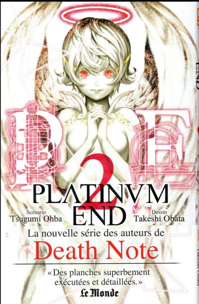 Couverture Platinum end tome 2