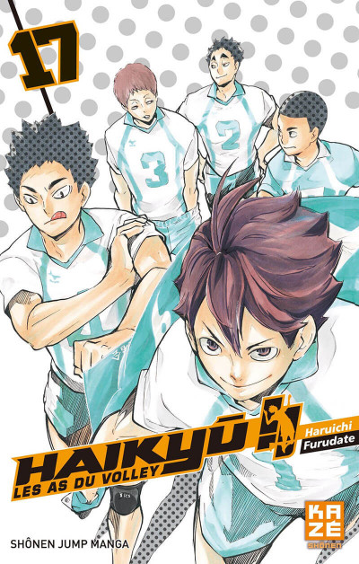 Couverture Haikyu !! - Les as du volley tome 17