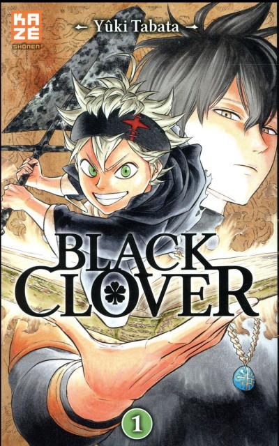 Couverture Black clover tome 1