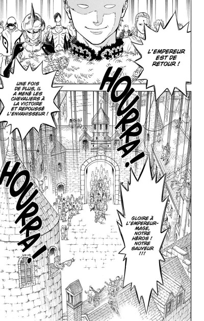 Page 8 Black clover tome 1