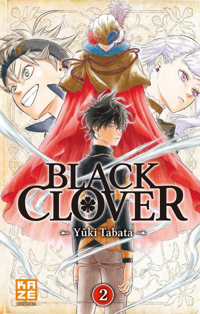 Couverture Black clover tome 2