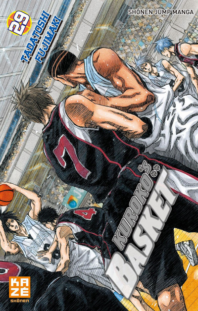 Couverture Kuroko's basket tome 29
