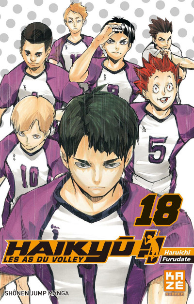 Couverture Haikyu !! - Les as du volley tome 18