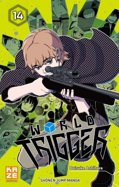 Couverture World trigger tome 14