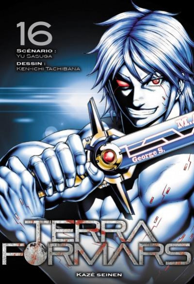 Couverture Terra formars tome 16
