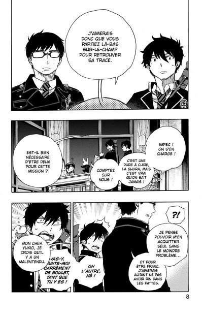 Page 9 Blue exorcist tome 17