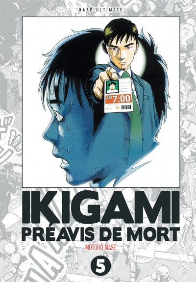 Couverture Ikigami - ultimate tome 5