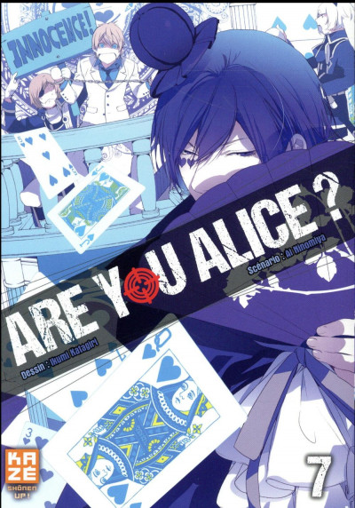 Couverture Are you Alice ? tome 7